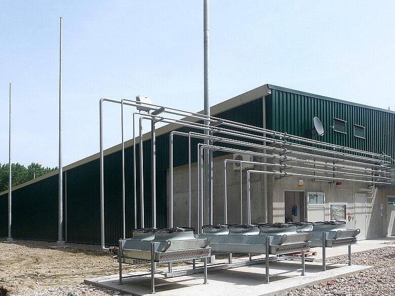 Dry Anaerobic Digestion with Power Generation San Canzian d'Isonzo