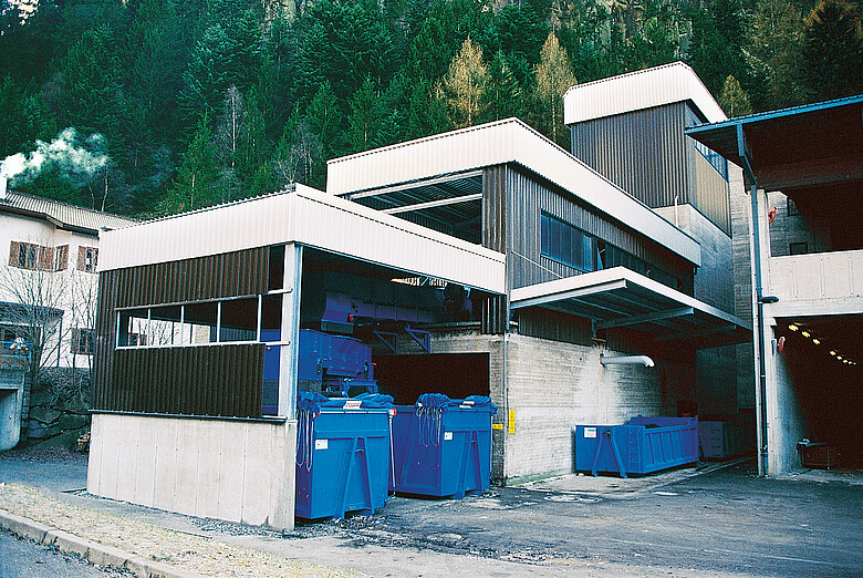 MMW and Sludge Transfer Station Ortisei