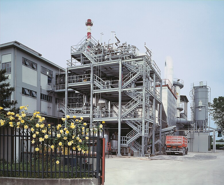 Second waste combustion line for the waste incinerator of Padova San Lazzaro